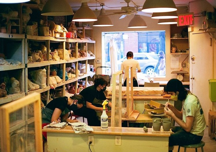 choplet pottery classes