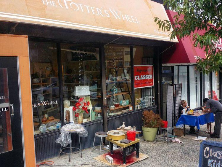 the potters wheel ceramics studio